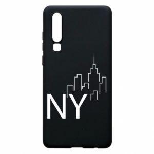 Etui na Huawei P30 NY city
