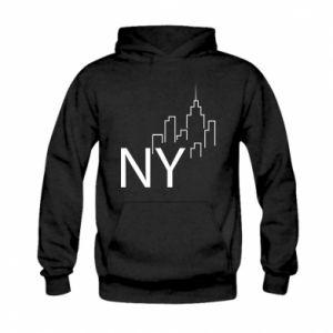 Bluza z kapturem dziecięca NY city