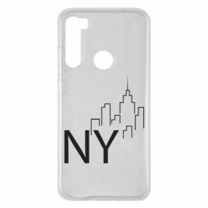 Etui na Xiaomi Redmi Note 8 NY city