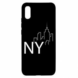 Etui na Xiaomi Redmi 9a NY city