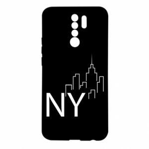 Etui na Xiaomi Redmi 9 NY city