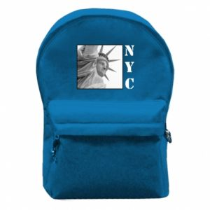 Backpack with front pocket NYC - PrintSalon