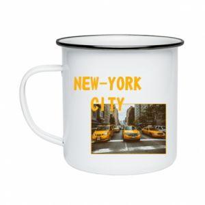 Enameled mug NYC