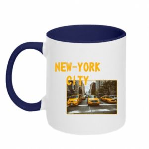 Kubek dwukolorowy NYC