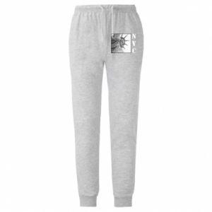 Męskie spodnie lekkie NYC - PrintSalon