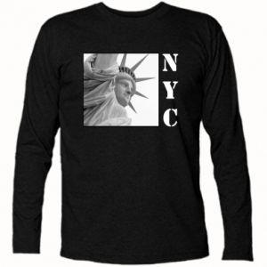 Koszulka z długim rękawem NYC