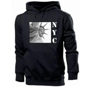 Męska bluza z kapturem NYC