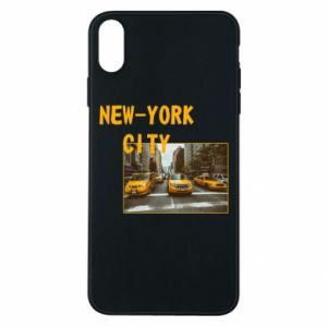 Phone case for iPhone Xs Max NYC