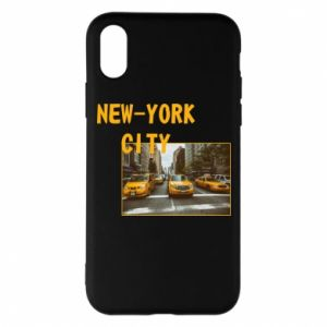 Etui na iPhone X/Xs NYC - PrintSalon