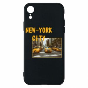 Etui na iPhone XR NYC - PrintSalon
