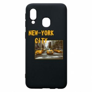 Phone case for Samsung A40 NYC