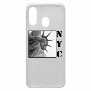 Phone case for Samsung A40 NYC - PrintSalon