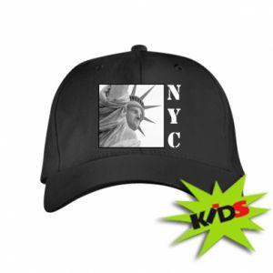 Dziecięca czapeczka z daszkiem NYC - PrintSalon