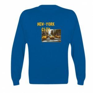 Kid's sweatshirt NYC