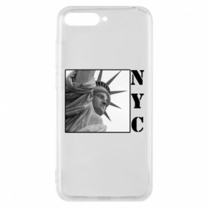 Phone case for Huawei Y6 2018 NYC - PrintSalon