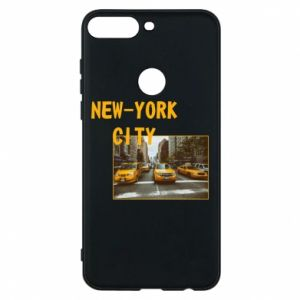 Phone case for Huawei Y7 Prime 2018 NYC