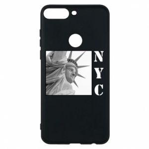 Phone case for Huawei Y7 Prime 2018 NYC - PrintSalon