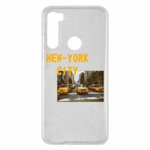 Xiaomi Redmi Note 8 Case NYC