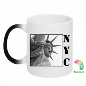 Kubek-kameleon NYC - PrintSalon