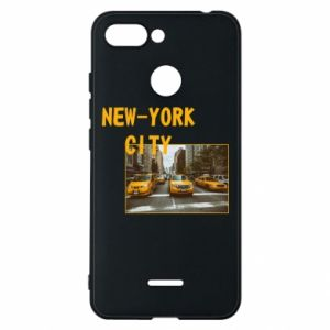 Phone case for Xiaomi Redmi 6 NYC