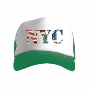 Kid's Trucker Hat NYC