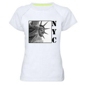 Damska koszulka sportowa NYC