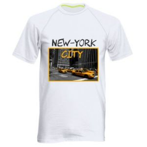 Men's sports t-shirt NYC