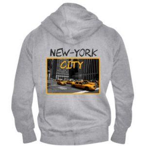 Men's zip up hoodie NYC