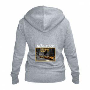 Women's zip up hoodies NYC