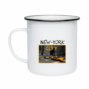 Enameled mug NYC