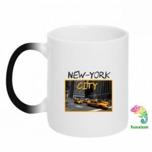 Kubek-kameleon NYC