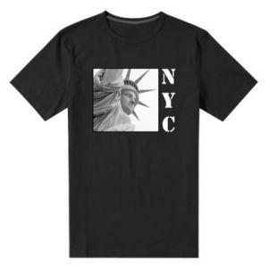 Męska premium koszulka NYC - PrintSalon