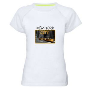 Women's sports t-shirt NYC