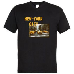 Men's V-neck t-shirt NYC