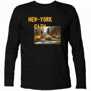Koszulka z długim rękawem NYC - PrintSalon