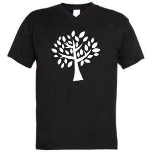 Męska koszulka V-neck Oak