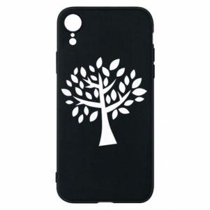 Etui na iPhone XR Oak