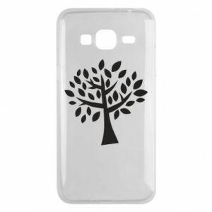 Etui na Samsung J3 2016 Oak