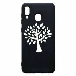 Etui na Samsung A20 Oak