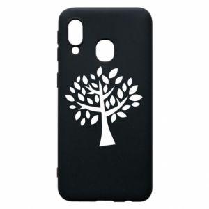 Etui na Samsung A40 Oak