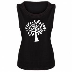 Damska koszulka bez rękawów Oak