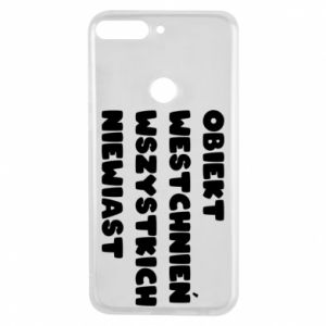 Phone case for Huawei Y7 Prime 2018 The object of sighing all women