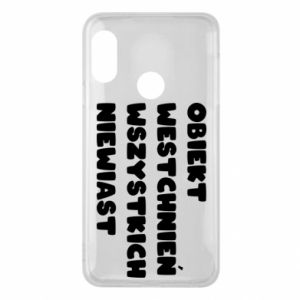 Phone case for Mi A2 Lite The object of sighing all women
