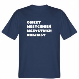 Koszulka Obiekt westchnień wszystkich niewiast