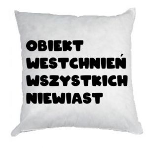 Pillow The object of sighing all women