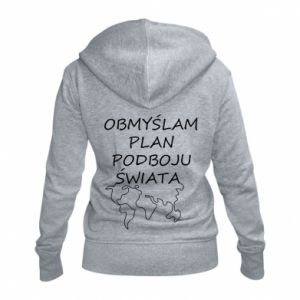 Women's zip up hoodies I am thinking of a plan of conquest - PrintSalon