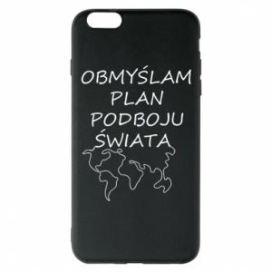 Etui na iPhone 6 Plus/6S Plus Obmyślam plan podboju