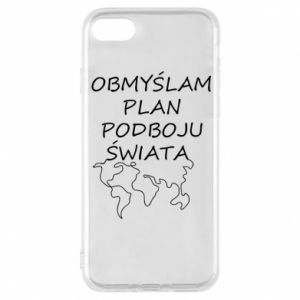 Phone case for iPhone 8 I am thinking of a plan of conquest - PrintSalon