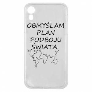 Etui na iPhone XR Obmyślam plan podboju