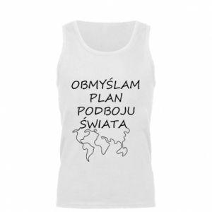 Men's t-shirt I am thinking of a plan of conquest - PrintSalon